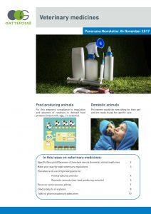 Gattefosse Panorama Newsletter November 2017 Veterinary medicines