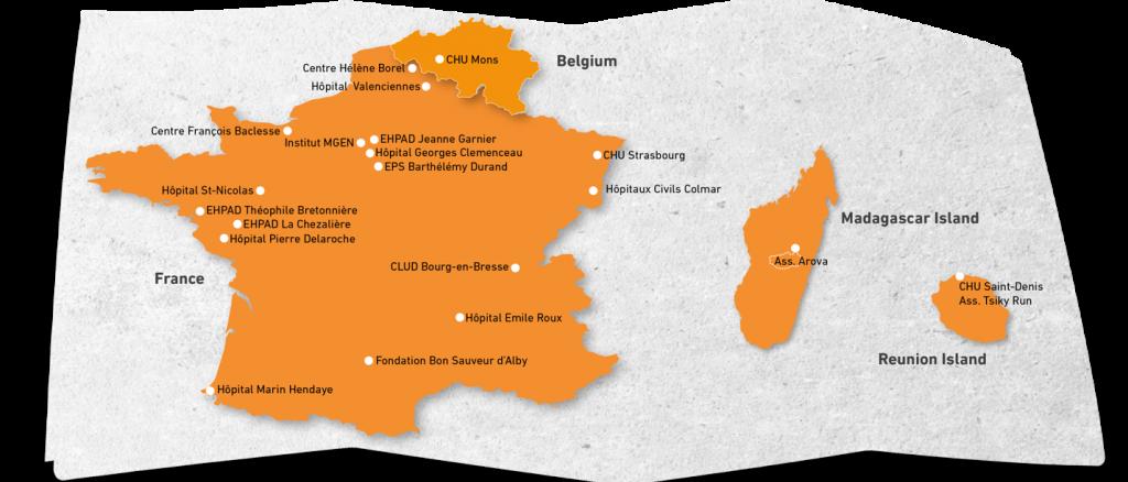 Cartographie primé fondation Gattefossé