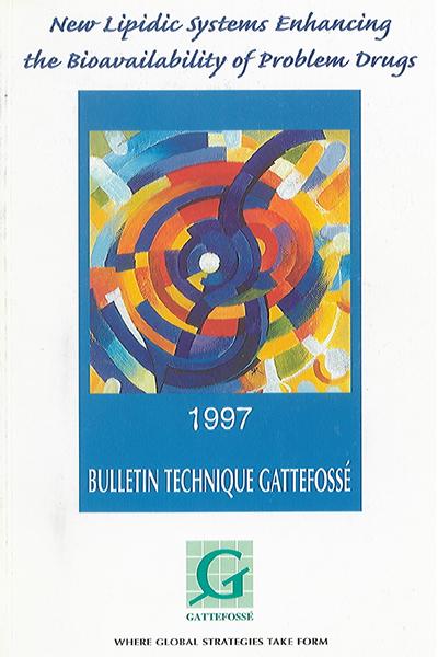 Bulletin Technique Gattefossé Journées Galéniques 1997