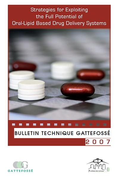 Bulletin Technique Gattefossé Journées Galéniques 2007