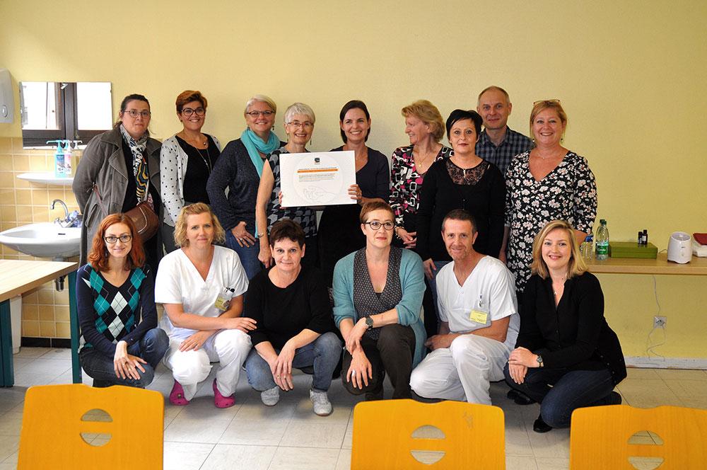 UnASP Strasbourg receiving the Foundation Gattefossé grant